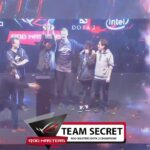 Team Secret Wins Rog Masters